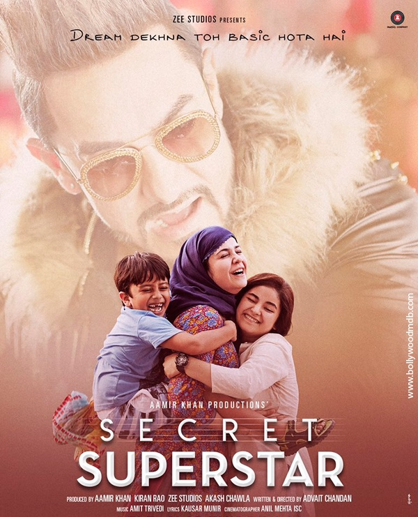 Secret Superstar 2017 full Movie 400Mb